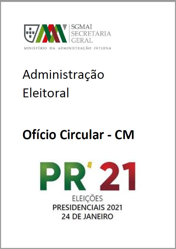 Ofício nº 28316/2020/SGA_AE/DSGSIE/DSIE, de 26/11/2020 | Eleição para o Presidente da República - 24 de janeiro de 2021 – Escrutínio Provisório - Comunicação de resultados